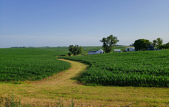 Photo Image of the state of Iowa