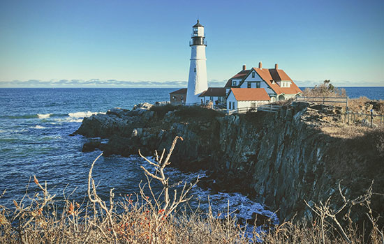 Photo Image of the state of Maine