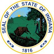 The Indiana State Seal