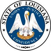The Louisiana State Seal