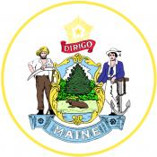 The Maine State Seal