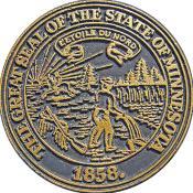 The Minnesota State Seal