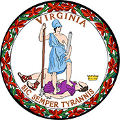 The Virginia State Seal