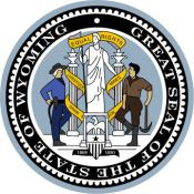 The Wyoming State Seal